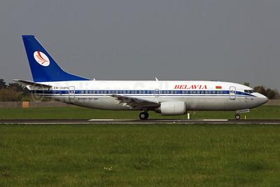 Belavia Belarusian Airlines Boeing 737-3K2 EW-308PA (msn 24328) DUB (Paul Doyle). Image: 909059.