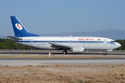 Belavia Belarusian Airlines Boeing 737-3Q8 EW-283PA (msn 26333) AYT (Ton Jochems). Image: 929412.