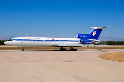 Belavia Belarusian Airlines Tupolev Tu-154M EW-85741 (msn 91A896) AYT (Ton Jochems). Image: 955171.