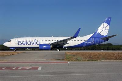 Belavia Belarusian Airlines Boeing 737-8ZM WL EW-455PA (msn 61421) AYT (Antony J. Best). Image: 939228.