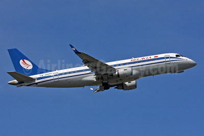 Belavia Belarusian Airlines Embraer ERJ 170-200LR (ERJ 175) EW-340PO (msn 17000350) LGW (SPA). Image: 938679.