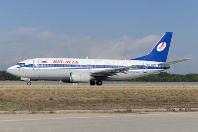 Belavia Belarusian Airlines Boeing 737-36M EW-407PA (msn 28332) AYT (Ton Jochems). Image: 924555.