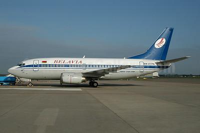 Belavia Belarusian Airlines Boeing 737-5Q8 EW-251PA (msn 27634) AMS (Ton Jochems). Image: 954191.