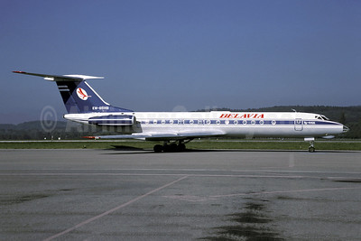 Belavia Belarusian Airlines Tupolev Tu-134A EW-65149 (msn 61033) ZRH (Christian Volpati Collection). Image: 940999.
