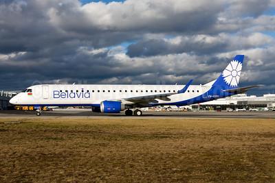 Belavia Belarusian Airlines Embraer ERJ 190-200LR (ERJ 195) EW-532PO (msn 19000765) MUC (Gunter Mayer). Image: 955055.
