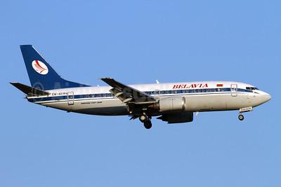 Belavia Belarusian Airlines Boeing 737-36M EW-407PA (msn 28332) AYT (Andi Hiltl). Image: 938678.