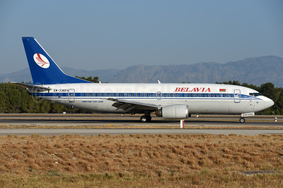 Belavia Belarusian Airlines Boeing 737-3Q8 EW-336PA (msn 26312) AYT (Ton Jochems). Image: 939769.