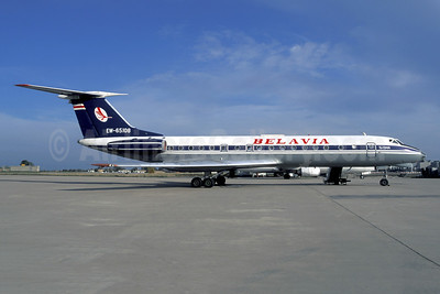 Belavia Belarusian Airlines Tupolev Tu-134A EW-65108 (msn 60332) CDG (Christian Volpati). Image: 940998.
