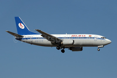 Belavia Belarusian Airlines Boeing 737-3Q8 EW-336PA (msn 26312) AYT (Paul Denton). Image: 909060.