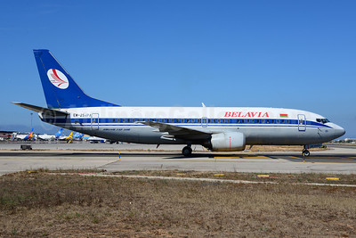 Belavia Belarusian Airlines Boeing 737-3Q8 EW-254PA (msn 26294) PMI (Ton Jochems). Image: 913789.