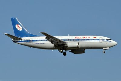 Belavia Belarusian Airlines Boeing 737-3Q8 EW-283PA (msn 26333) AYT (Karl Cornil). Image: 923257.