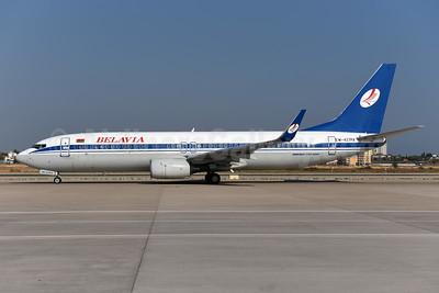 Belavia Belarusian Airlines Boeing 737-8K5 WL EW-437PA (msn 27988) AYT (Ton Jochems). Image: 943827.