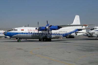 Ruby Star Airways Antonov An-12BK EW-275TI (msn 00347210) SHJ (Paul Denton). Image: 929637.