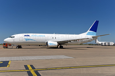 ASL Airlines (Belgium) Boeing 737-4M0 (F) OE-IAC (msn 29202) LGG (Ton Jochems). Image: 942768.