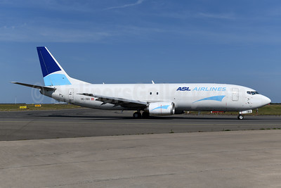 ASL Airlines (Belgium) Boeing 737-490 (F) OO-IBO (msn 29270) LGG (Ton Jochems). Image: 947518.