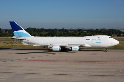 ASL Airlines (Belgium) Boeing 747-409F OE-IFC (msn 30762) LGG (Rainer Bexten). Image: 951196.