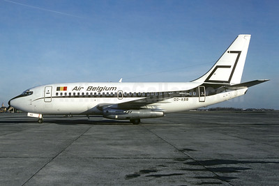 Air Belgium (1st) Boeing 737-2P6 OO-ABB (msn 21359) (Abelag Airways Colors) OST (Christian Volpati Collection). Image: 941388.