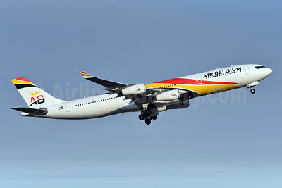 Air Belgium (2nd) Airbus A340-313 OO-ABB (msn 844) YYZ (TMK Photography). Image: 947012.