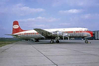 BIAS (Belgian International Air Services) Douglas DC-6B OO-PAY (msn 45478) LBG (Bruce Drum Collection). Image: 948746.