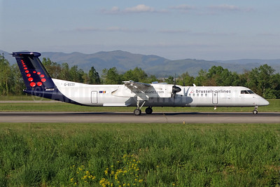 Brussels Airlines (Flybe) Bombardier DHC-8-402 (Q400) G-ECOI (msn 4224) BSL (Paul Bannwarth). Image: 923219.