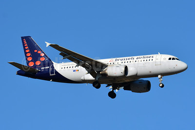 Brussels Airlines Airbus A319-111 OO-SSX (msn 2260) BSL (Paul Bannwarth). Image: 943574.