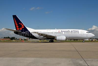 Brussels Airlines Boeing 737-36N OO-VEN (msn 28586) BRU (Ton Jochems). Image: 953394.