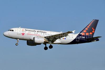 Brussels Airlines Airbus A319-111 OO-SSB (msn 2400) (TomorrowLand) BRU (Karl Cornil). Image: 913065.