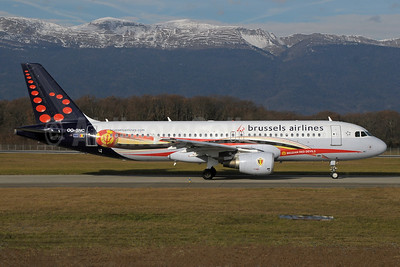 "Brussels Airlines 2013 ""Belgian Red Devils"" special livery"