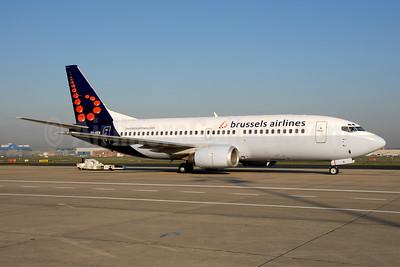 Brussels Airlines Boeing 737-36N OO-VEN (msn 28586) BRU (Ton Jochems). Image: 953395.