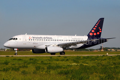 Brussels Airlines (CityJet) Sukhoi Superjet 100-95B EI-FWD (msn 95105) BCY (Marco Finelli). Image: 937506.