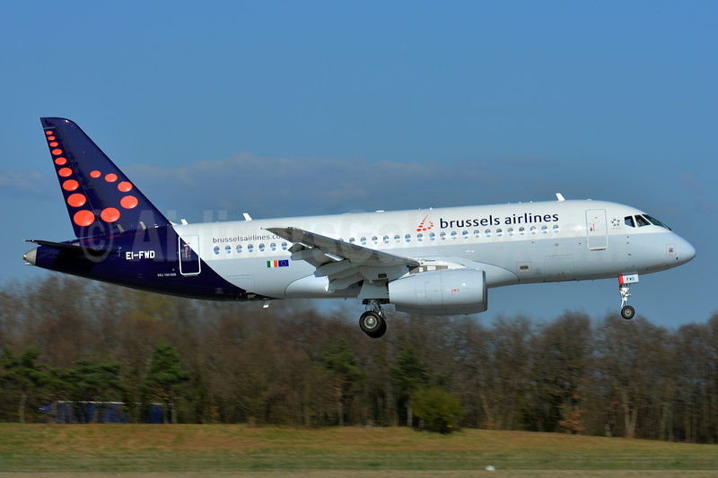 Wet leased from CityJet on March 25, 2017