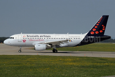 Brussels Airlines Airbus A319-111 OO-SSA (msn 2392) (TomorrowLand) GVA (Paul Denton). Image: 913478.