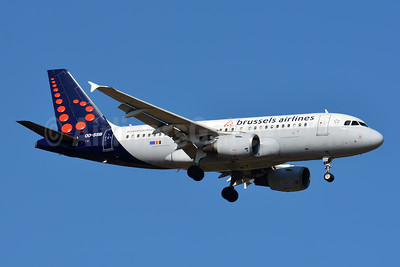 Brussels Airlines Airbus A319-111 OO-SSB (msn 2400) BSL (Paul Bannwarth). Image: 945633.