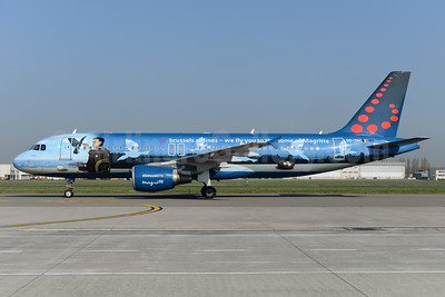 Brussels Airlines' salute to Belgian artist René Magritte