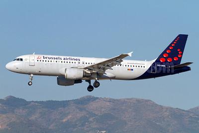 Brussels Airlines Airbus A320-214 OO-SNA (msn 1441) AGP (Stefan Sjogren). Image: 923462.