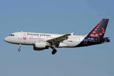 Brussels Airlines Airbus A319-111 OO-SSB (msn 2400) (TomorrowLand) BRU (TMK Photography). Image: 913306.