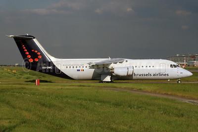 Brussels Airlines BAe RJ100 (146-RJ100) OO-DWC (msn E3322) LHR. Image: 937528.
