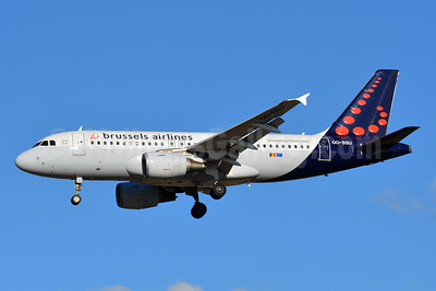 Brussels Airlines Airbus A319-111 OO-SSU (msn 2230) TLS (Paul Bannwarth). Image: 935659.