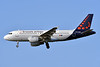 Brussels Airlines Airbus A319-111 OO-SSS (msn 2030) LHR (Ken Petersen). Image: 941515.