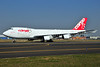 Cargo B Airlines Boeing 747-4KZF ER OO-CBC (msn 36784) AMS (Ton Jochems). Image: 902640.
