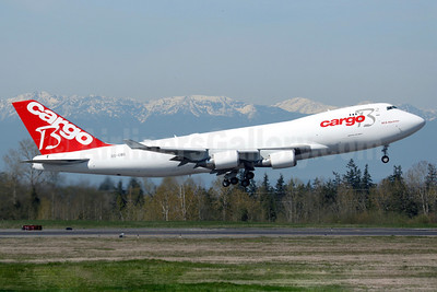 Cargo B Airlines Boeing 747-4KZF ER OO-CBD (msn 36785) PAE (Nick Dean). Image: 902724.