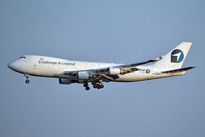 Challenge Airlines (BE) - Challenge Accepted Boeing 747-4EVF ER OO-ACF (msn 35169) JFK (Jay Selman). Image: 404076.