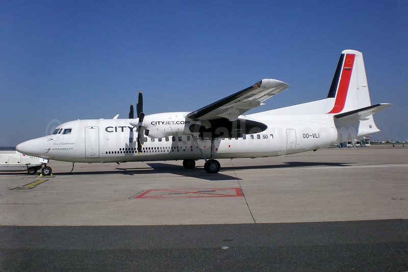 CityJet (VLM Airlines) Fokker F.27 Mk. 050 OO-VLI (msn 20226) ORY (Pepscl). Image: 905006.
