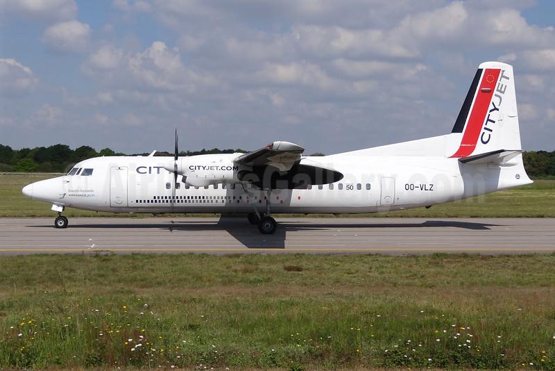 CityJet (VLM Airlines) Fokker F.27 Mk. 050 OO-VLZ (msn 20264) NTE (Paul Bannwarth). Image: 920301.