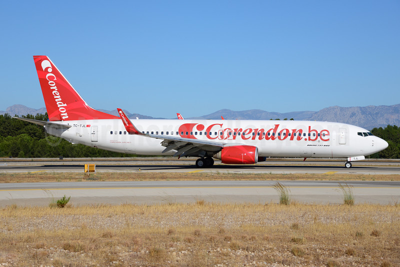 Corendon.be (Corendon Airlines Belgium) Boeing 737-86J WL TC-TJL (msn 32920) AYT (Ton Jochems). Image: 913691.