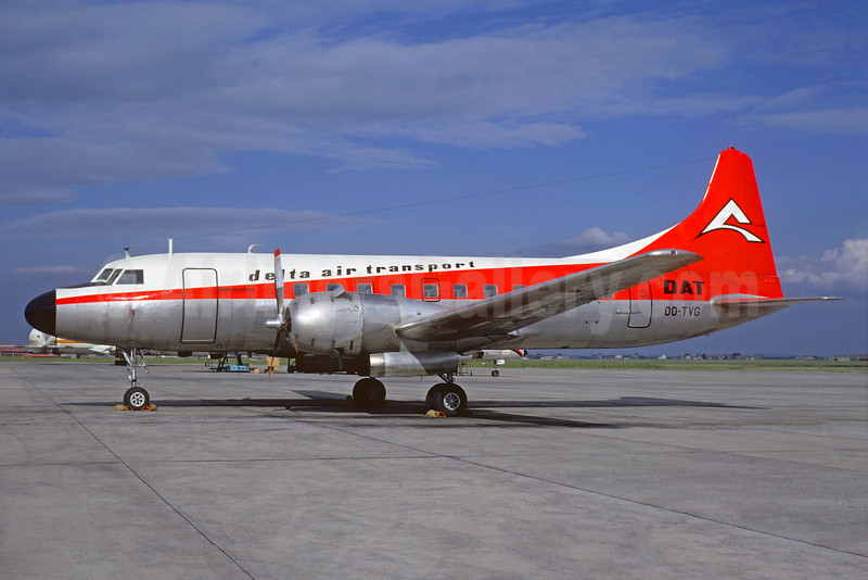 Delta Air Transport-DAT Convair 440-80 OO-DVG (msn 404) OST (Christian Volpati Collection). Image: 935406.