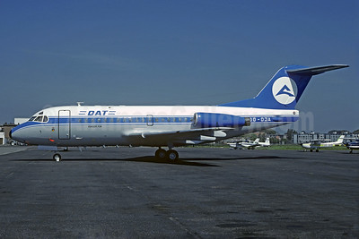 DAT (Delta Air Transport) Fokker F.28 Mk. 3000 OO-DJA (msn 11163) ANR (Christian Volpati Collection). Image: 935403.