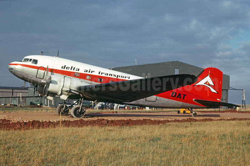 Delta Air Transport-DAT Douglas C-47B-DK (DC-3) OO-CBU (msn 25880) (Christian Volpati Collection). Image: 929947.
