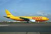 DHL-European Air Transport (Belgium) Airbus A300B4-203 (F) OO-DLE (msn 236) LHR (Dave Glendinning). Image: 908458.