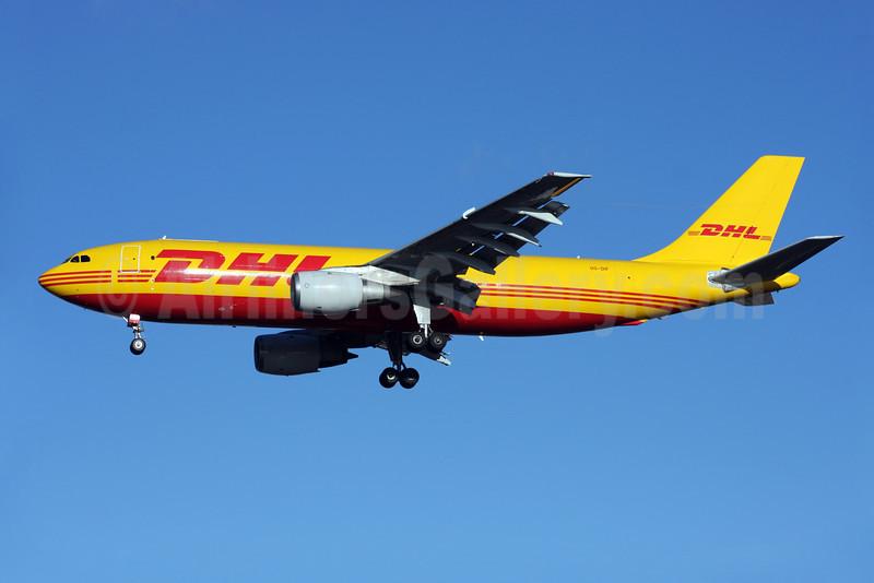 DHL-European Air Transport (Belgium) Airbus A300B4-103 (F) OO-DIF (msn 148) LHR (Antony J. Best). Image: 902060.